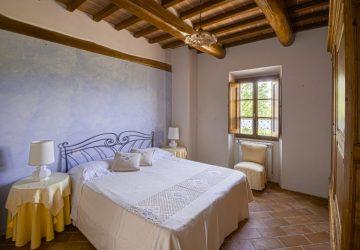 Room at Yoga Retreat Tuscany