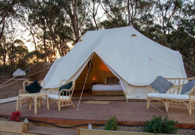 Glamping Yoga Retreat Victoria