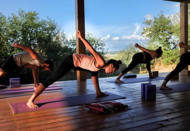 Tuscany yoga Retreat with wine-tasting