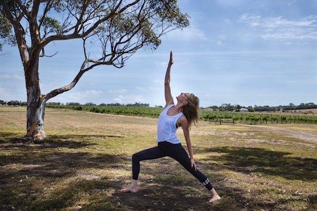 Instructor Claire March at Yoga Retreat Victoria