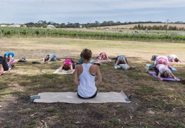 Yoga and Wine Event Melbourne