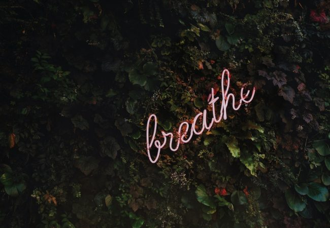 important to breathe correctly